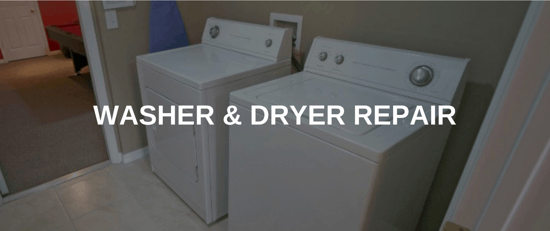 washing machine repair redlands